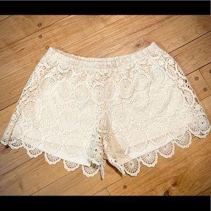 HeartSoul-lace shorts